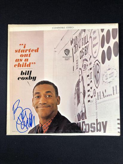 "Bill Cosby ""I Started Out As A Child"" Autographed Album"
