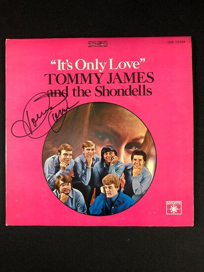 Tommy James and The Shondells Autographed Album Signed by Tommy James