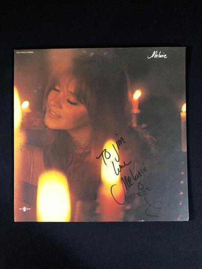 """Melanie"" Autographed Album"