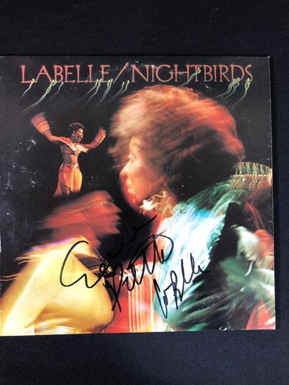 Patti LaBelle/Nightbirds Autographed Album Signed by Patti LaBelle