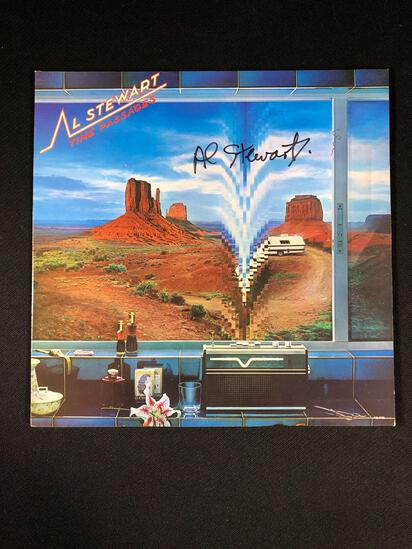 "Al Stewart ""Time Passages"" Autographed Album"