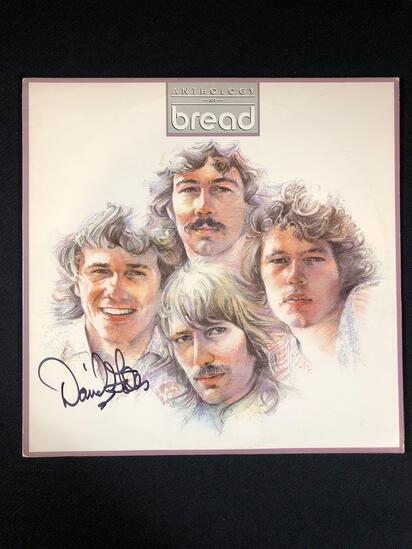 "Bread ""Anthology of Bread"" Autographed Album Signed by David Gates"