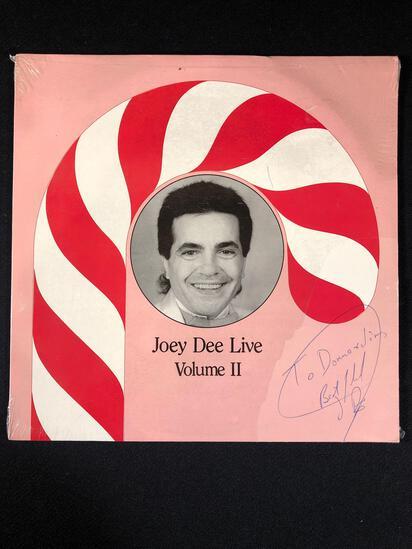 "Joey Dee ""Live Vol. ll"" Autographed Album"