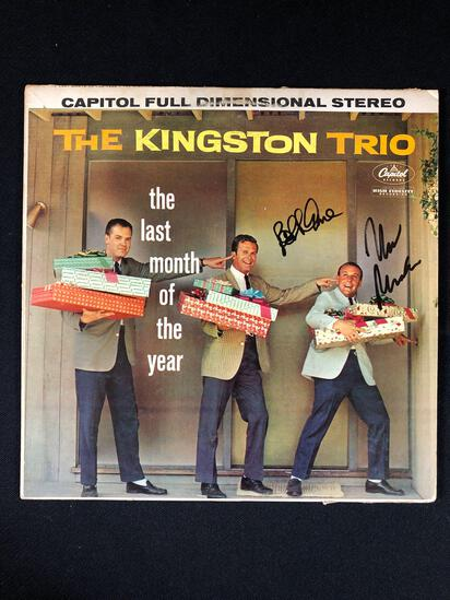"The Kingston Trio ""The Last Month of The Year"" Autographed Album"