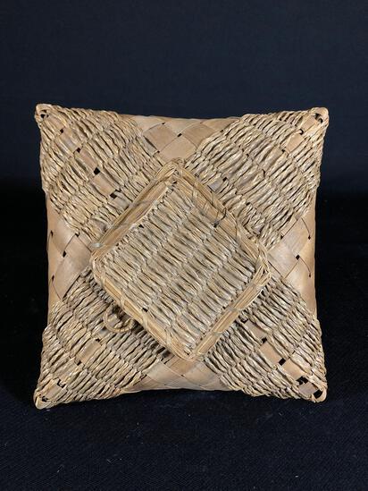 19th c. Penobscot Basket