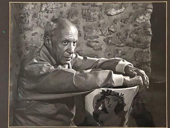 Yousuf Karsh(Armenian/Canadian 1908-2002)Framed Photograph Of Pablo Picasso