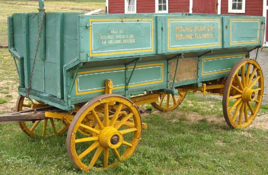 """the Genuine T.G. Mandt Wagon"""