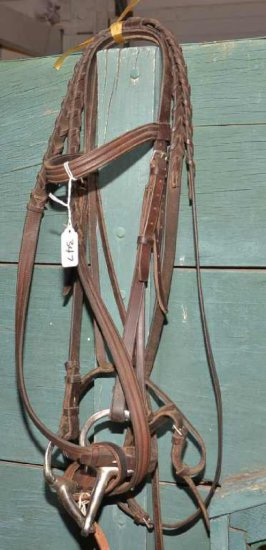 Ear Headstall W/snaffle Bit