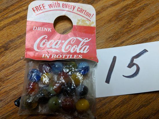 Coca-cola In Bottles Marble Pack
