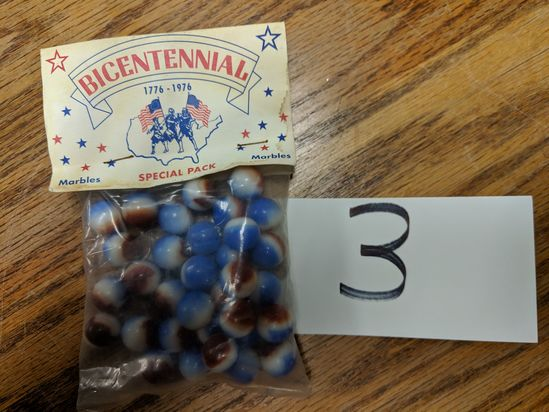 Bicentennial Special Pack Marbles Pack