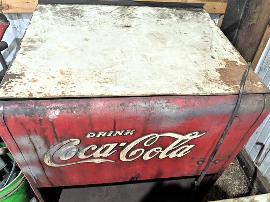 Coca-Cola Parts Washer