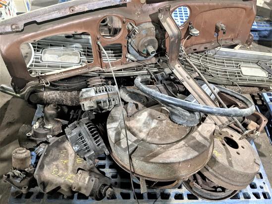 Pallet Old Dodge Parts