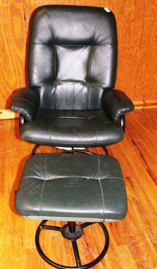 Reclining chair and stool