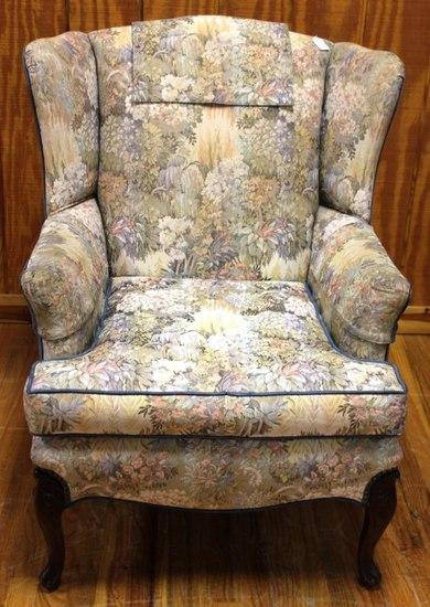 Floral Parlor chair