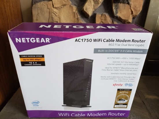 Wi-Fi Cable modem router