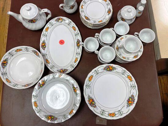 49 piece China set
