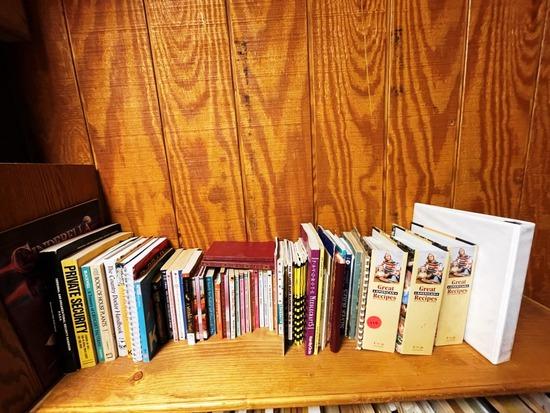 One shelf of Books