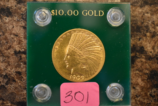 $10 GOLD INDIAN