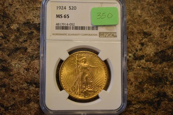 $20 GOLD SAINT