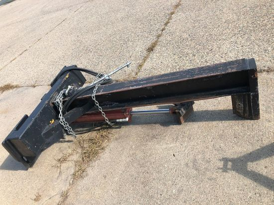 Hydraulic Wood Splitter For Skid Steer