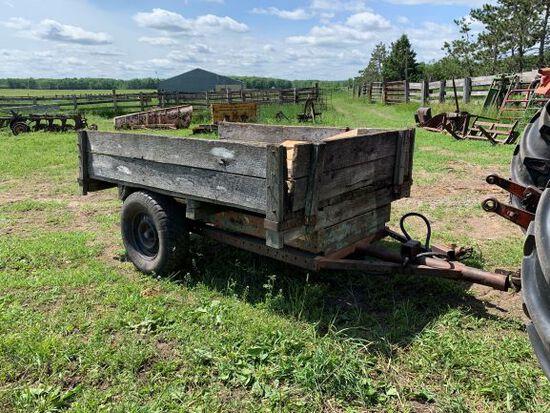 Homemade 5x8 Hydraulic Dump Trailer