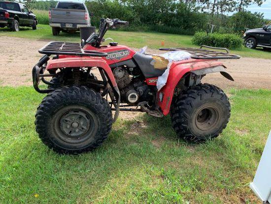Yamaha Big Bear 350cc 2X4 4 Wheeler