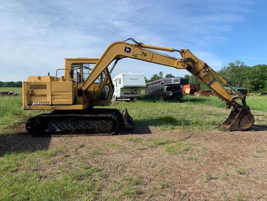 John Deere 70 Diesel Excavator