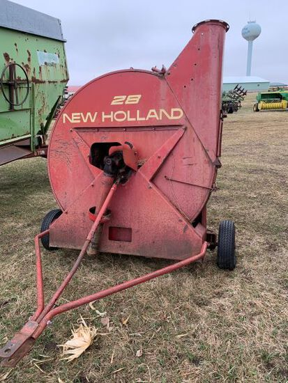 New Holland 28  Silage Blower