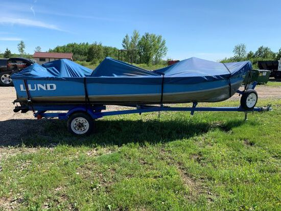 1966 16 Ft Lund Boat