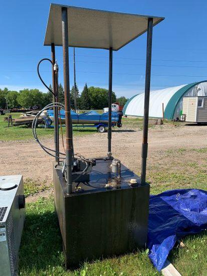 Lan Air Waste Oil Tank