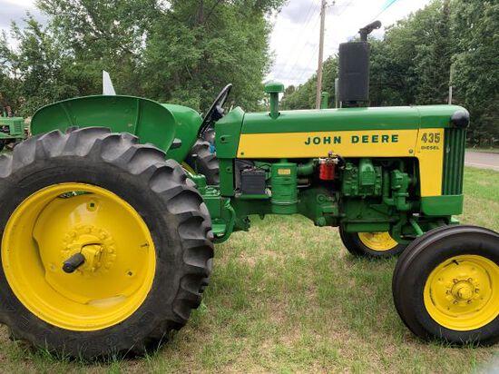 David & Judy Hiemenz Tractor Collection Auction