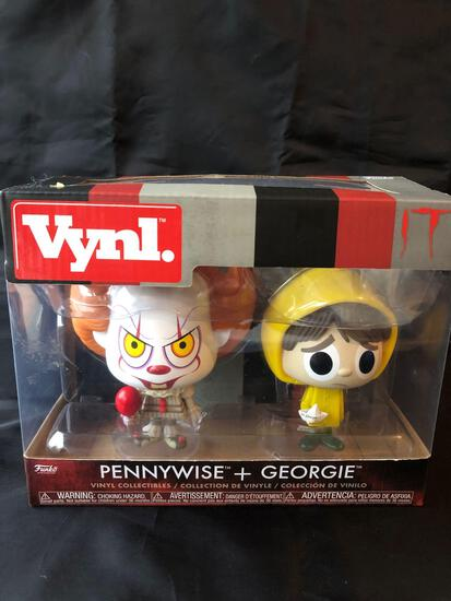 Pennywise & George figurine set