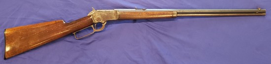 MARLIN MODEL 1897 LEVER ACTION RIFLE, TAKEDOWN, .22 S-LR, RARE