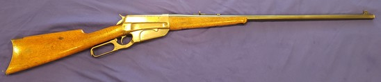 WINCHESTER MODEL 1895 LEVER ACTION .303 BRITISH, RARE VERY DESIRABLE CALIBER IN VERY GOOD CONDITION