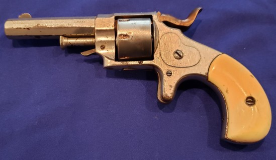 FOREHAND AND WADSWORTH MODEL 1861 REVOLVER 22 SHORT