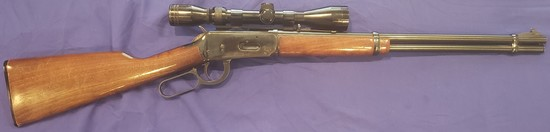 WINCHESTER MODEL 1894 LEVER ACTION RIFLE WITH SCOPE 30-30