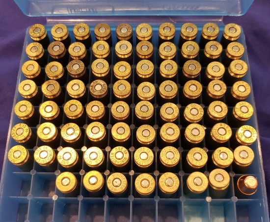 AMMO MISC .40 S&W FULL METAL JACKET, 78 RDS