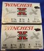 "AMMO WINCHESTER SUPER X 12 GAUGE SHOTGUN SHELLS, #7.5, 2.75"", 2 BOXES 50 RDS"