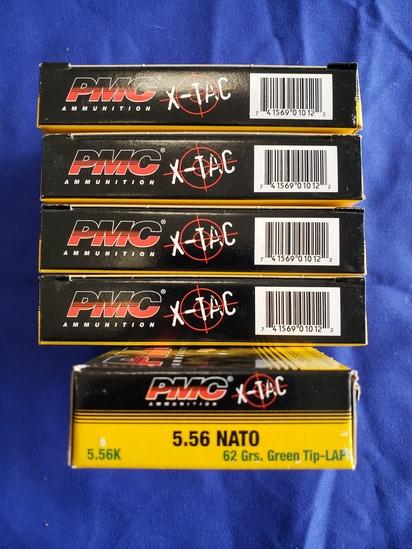 PMC X-TAC 5.56 62GR GREEN TIP… 100 RDS