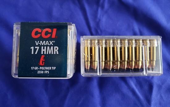 CCI .17 HMR 17GR VMAX POLYMER TIP… 100 RDS