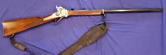 U.S. SHARPS RIFLE COMPANY MODEL 1874 OLD RELIABLE .45-120 - RARE