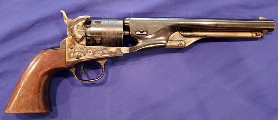 REPLICA ARMS BLACKPOWDER 1863 GETTYSBURG 1963 REVOLVER .38 CAL