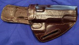 HOLSTER, DARK RED LEATHER