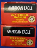 AMMO AMERICAN EAGLE .327 FEDERAL MAGNUM 100GR JACKETED SOFT POINT