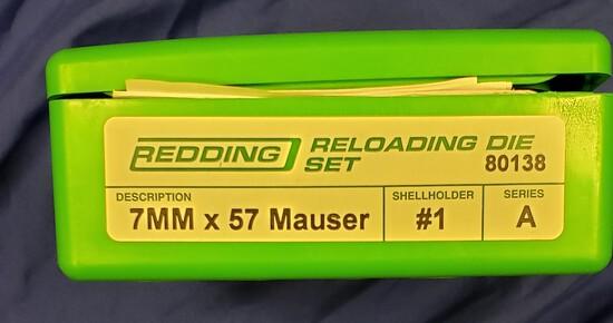 Redding Reloading Die Set 7MMx 57 Mauser