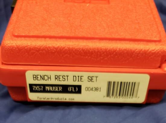 Forster Bench Rest Die Set 7x57 Mauser