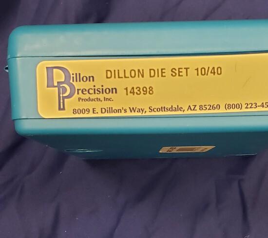 Dillion Precison Die Set 10/40