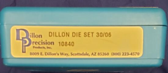 Dillon Die Set 30-06