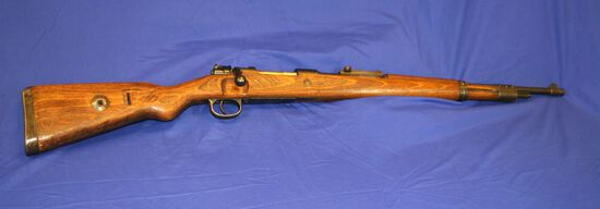 Mauser Model 98 Bolt Action Rifle Caliber: 8mm