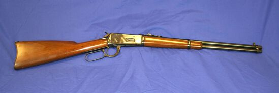 Winchester Model 1894 Saddle Ring Lever Action Rifle Caliber: 25-35 wcf